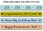 Personalized Solid Color Tape
