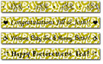 Personalized Chartreuse Leopard Print Tape