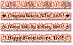 Personalized Papaya Leopard Print Tape