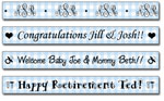 Personalized Bluebell Gingham Tape