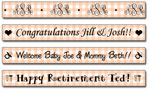 Personalized Poppy Gingham Tape