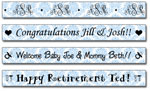 Personalized Bluebell Damask Tape