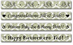 Personalized Moss Damask Tape