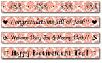 Personalized Papaya Damask Tape